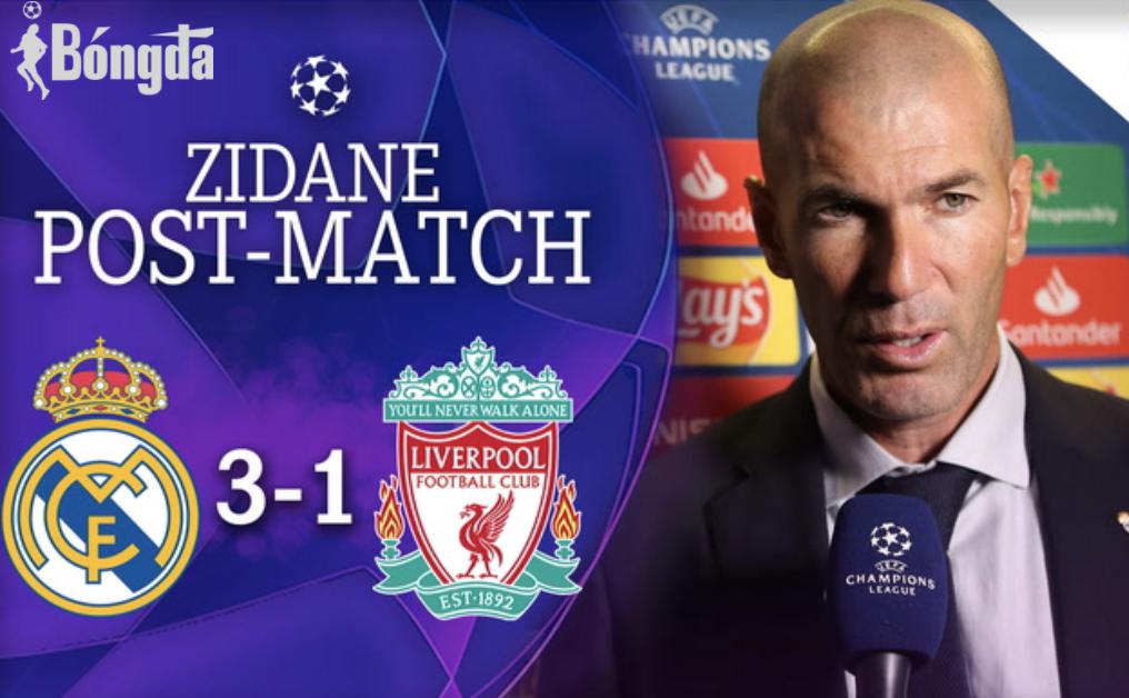 HLV Zidane: Real Madrid với đội hình toàn diện và luôn khao khát chiến thắng