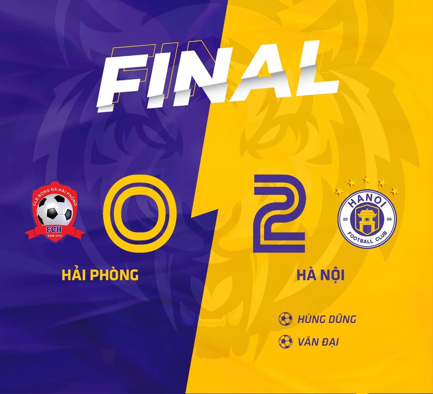 Hà Nội FC 2-0 Hải Phòng: 3 điểm để trở lại cuộc đua