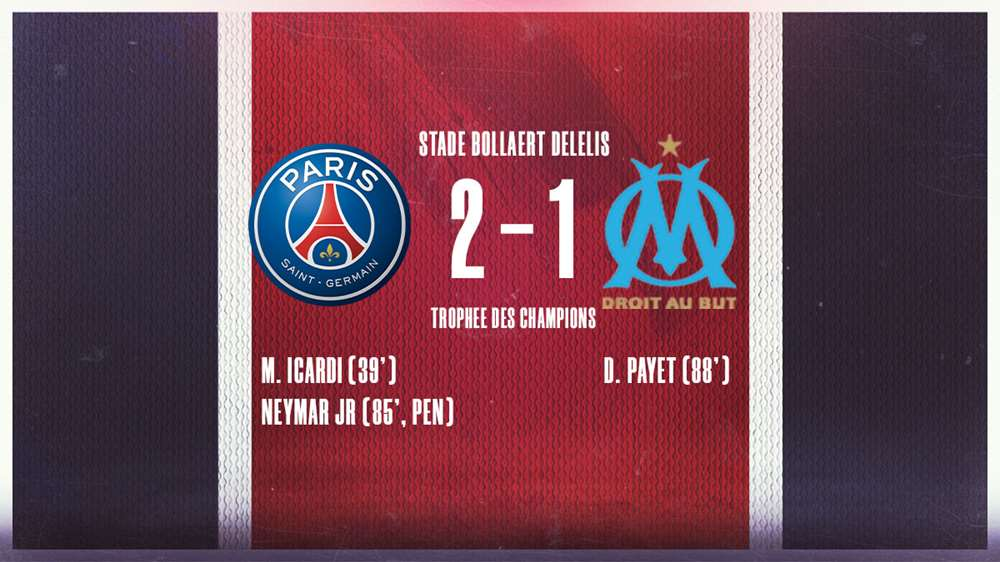 Với sự trở lại của Neymar, PSG đánh bại Marseille để giành Cúp vô địch Pháp