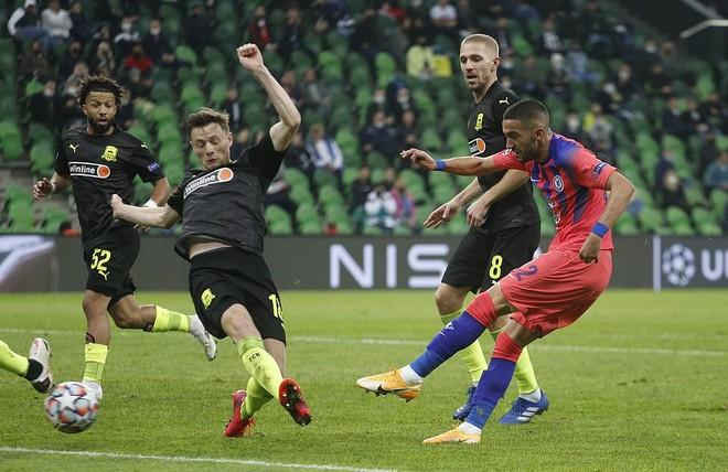 Chelsea đánh gục Krasnodar với tỷ số 4-0