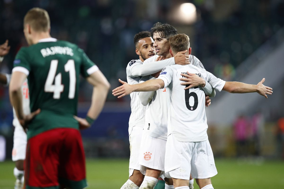 5 số liệu thống kê và sự thật trước cuộc đụng độ giữa Bayern Munich và Lokomotiv Moscow tại UCL