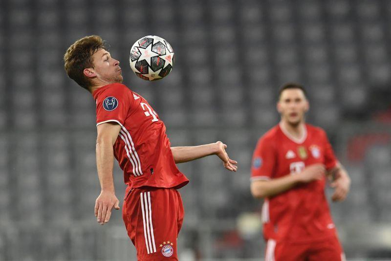 Kimmich góp công đưa Bayern Munich vào tứ kết Champions League