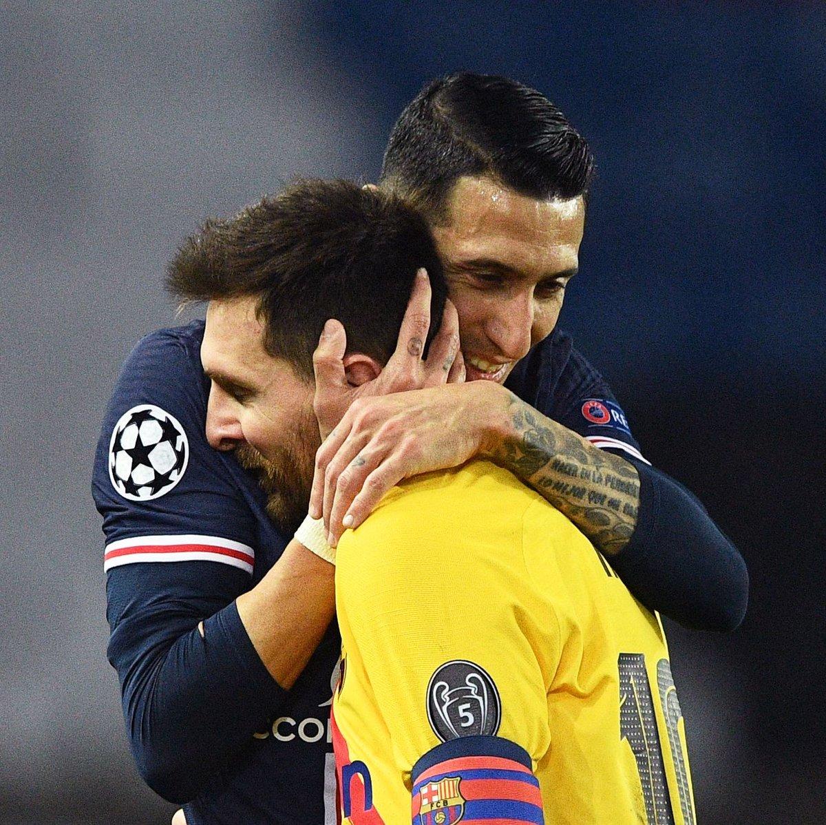"""Di Maria: """"Thật tuyệt vời khi chơi cùng Messi ở PSG"""""""