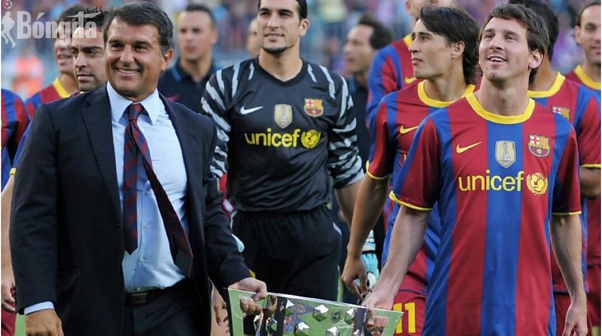 Mùa hè bận rộn của chủ tịch Barcelona, nhiệm vụ cấp bách giữ chân Messi