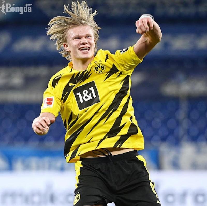 Erling Haaland gặp thời, Dortmund gấp rút tăng điều khoản mua đứt