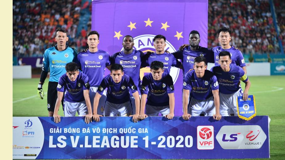 Hà Nội FC quyết tâm bảo vệ ngôi vương giành tấm vé vào thẳng vòng bảng AFC Champions League