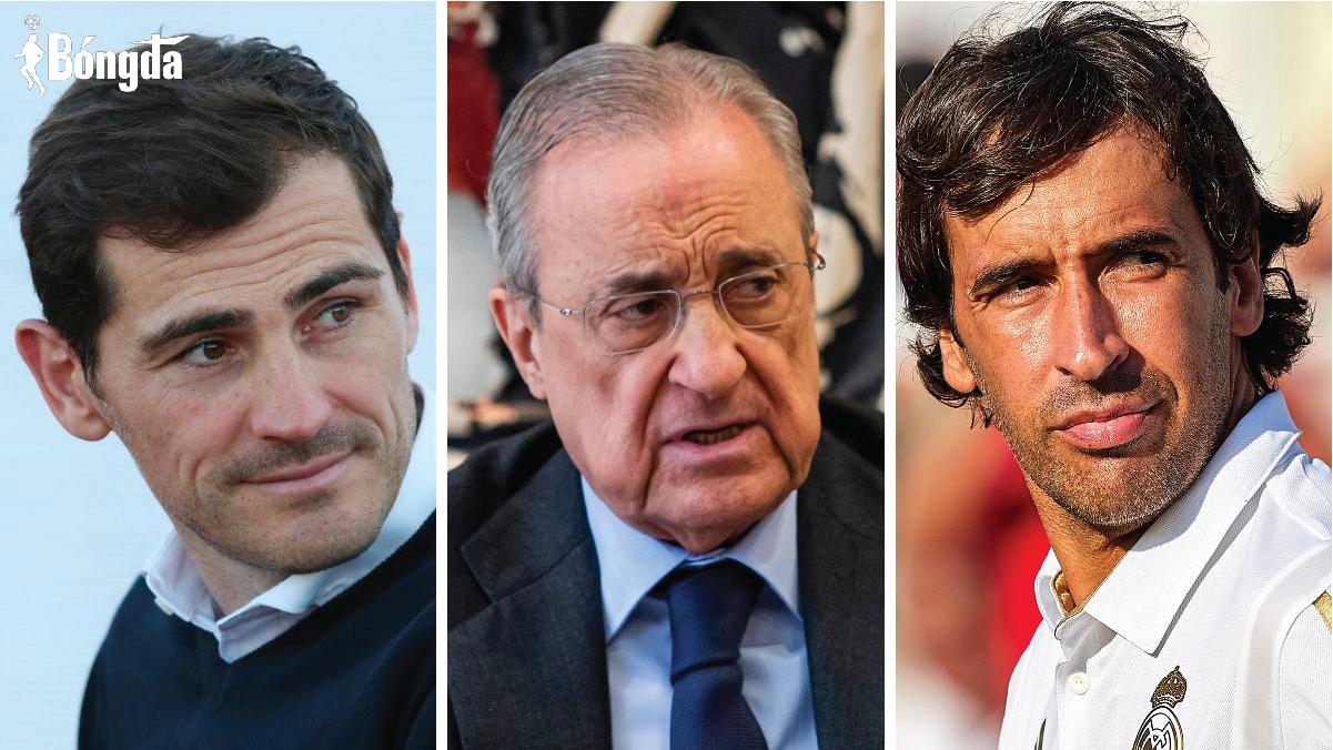 Chủ tịch Perez bị lộ đoạn ghi âm miệt thị hai huyền thoại của Real Madrid