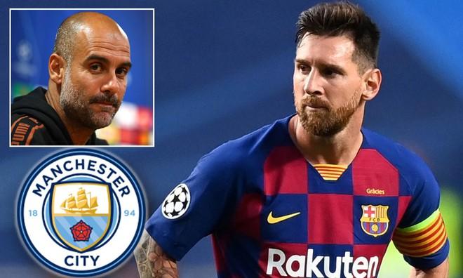 """Kế hoạch """"khủng"""" của Man City dành cho Messi: Hợp đồng 10 năm và vai trò đại sứ toàn cầu"""