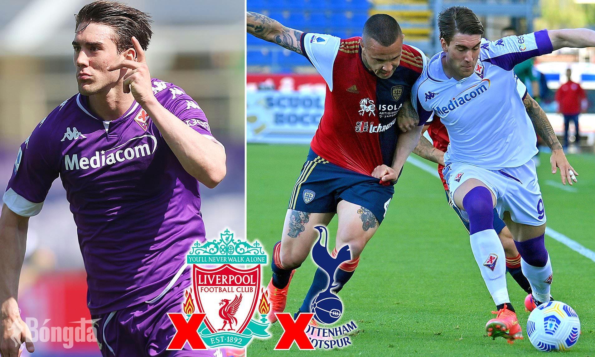 Liverpool, Tottenham quyết tậu 'mồi ngon' Dusan Vlahovic, Fiorentina sẽ dễ dàng từ bỏ?