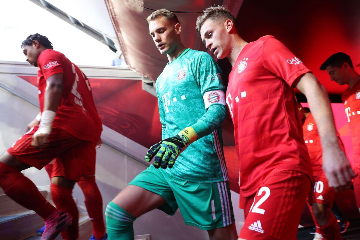 Manuel Neuer lo lắng cho Joshua Kimmich