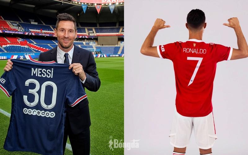 Gia nhập Manchester United, kỷ lục bán áo đấu của Ronaldo làm lu mờ Messi?
