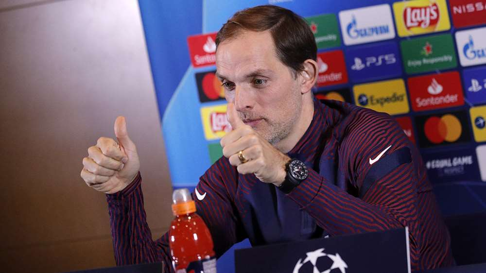 HLV Thomas Tuchel của PSG sẵn sàng cho trận đấu tại Champions League