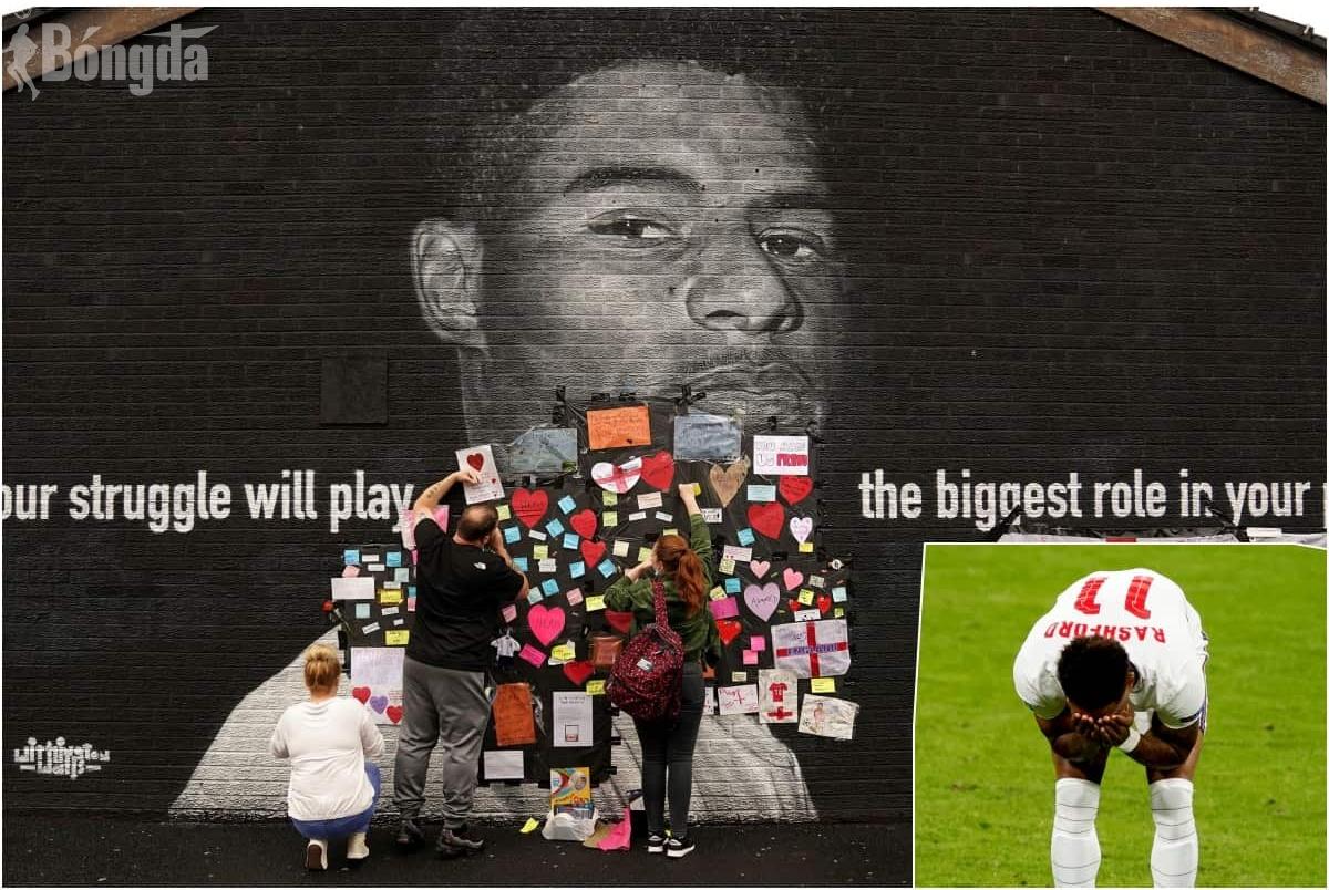 Tâm thư nước mắt của Rashford sau cú đá hỏng penalty định mệnh ở chung kết Euro 2020