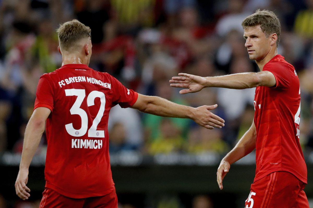 Màn trình diễn xuất sắc của Joshua Kimmich và Thomas Müller trước Schalke