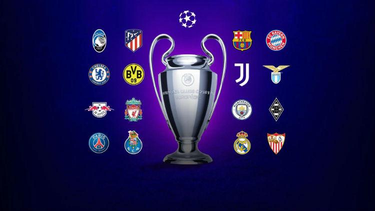 Lịch thi đấu Champions League vòng 1/8