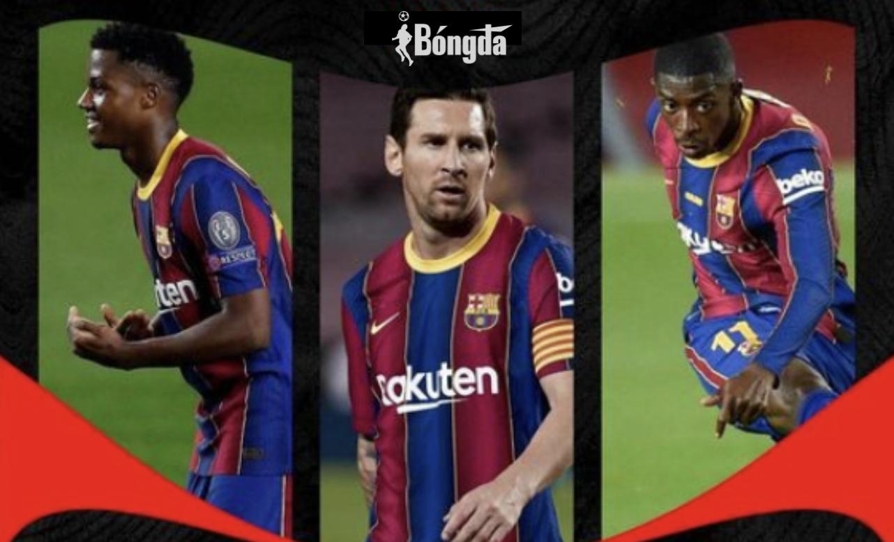 Tin tổng hợp Barcelona: Tương lai của Messi, Ansu Fati chuẩn bị làm phẫu thuật và lời cảnh báo của HLV Koeman với Dembele