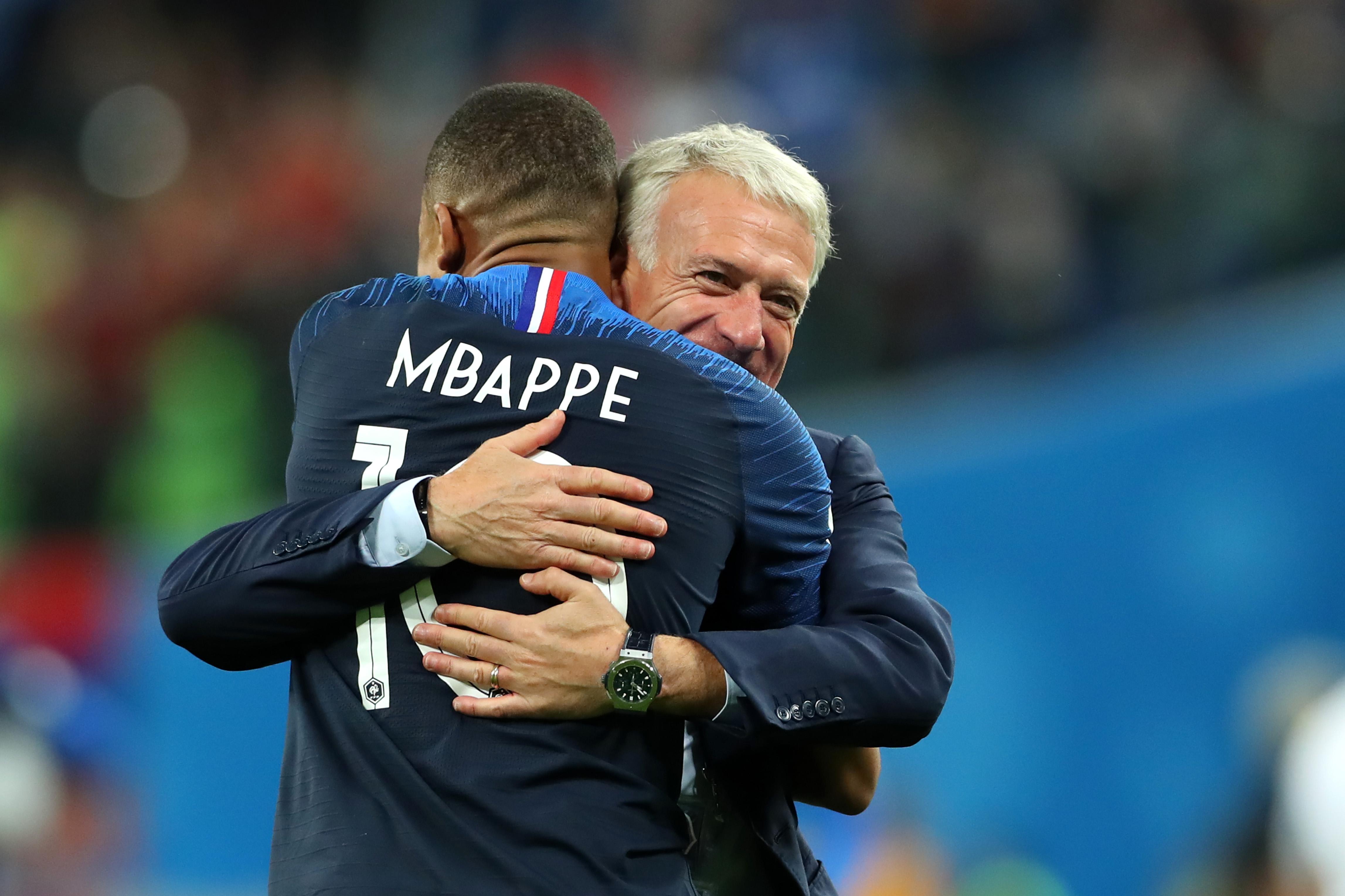 """HLV Didier Deschamps: """"Mọi thứ đang diễn ra tốt đẹp với Kylian Mbappe"""""""