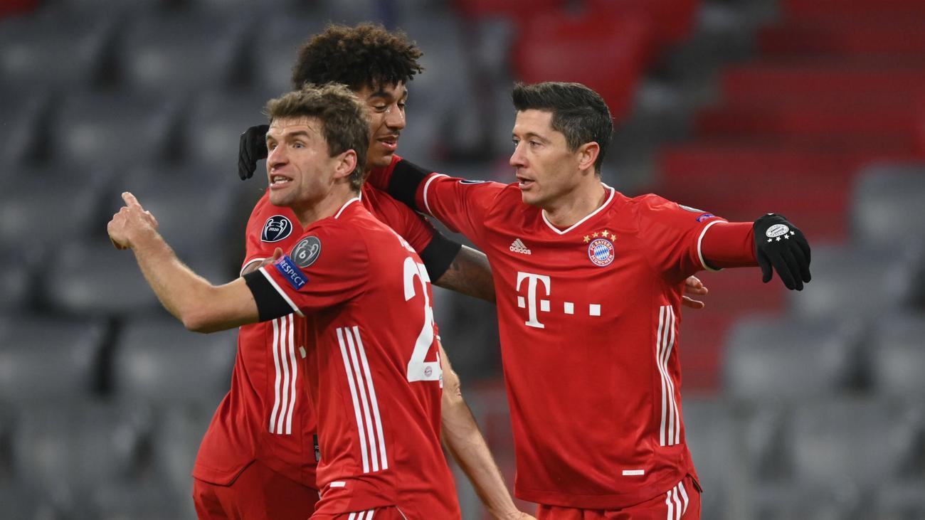 Bayern Munich thắng 3-1 trước Salzburg