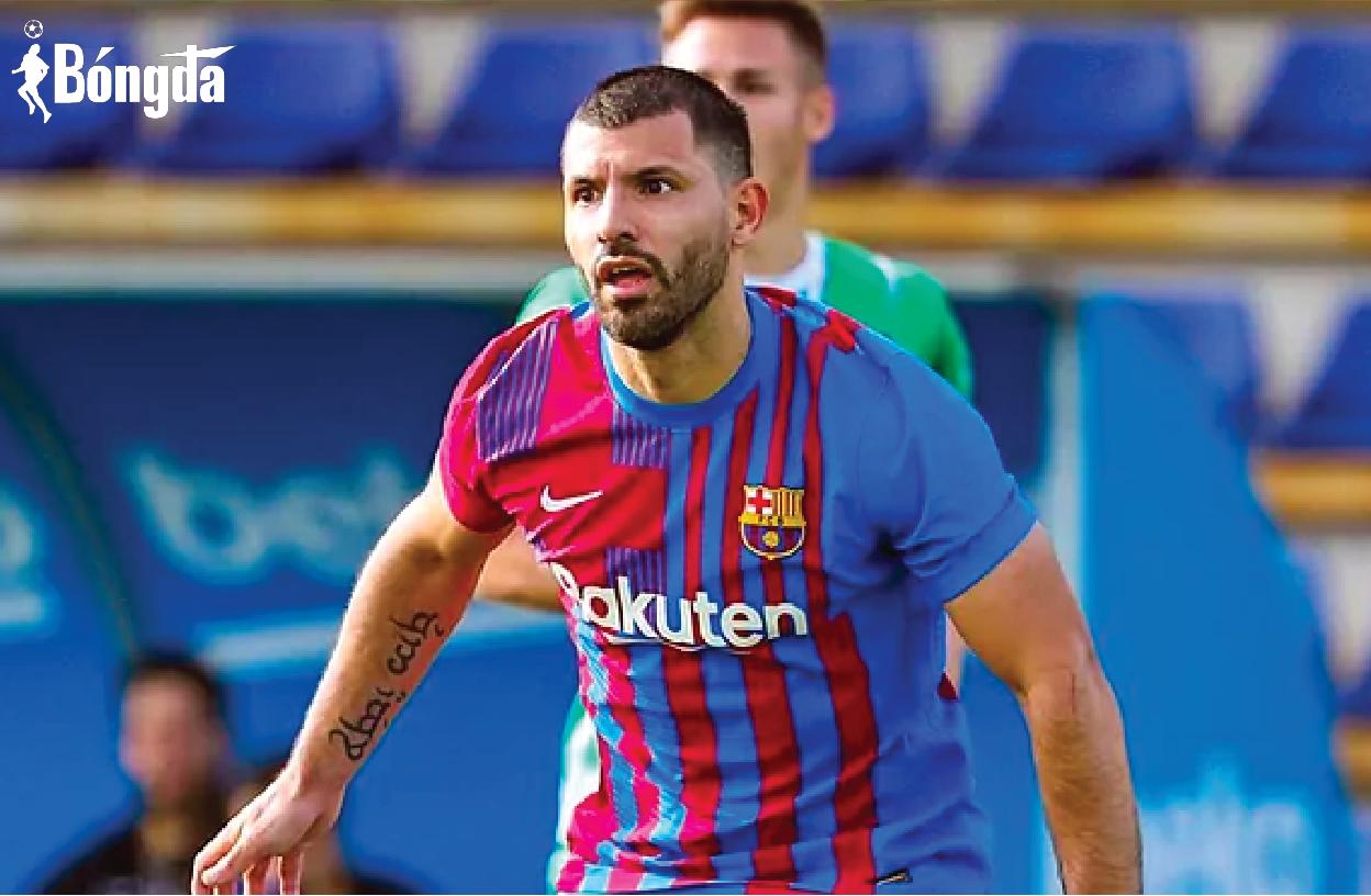 Hậu chấn thương, Aguero ghi bàn ngay trận đầu khoác áo Barcelona