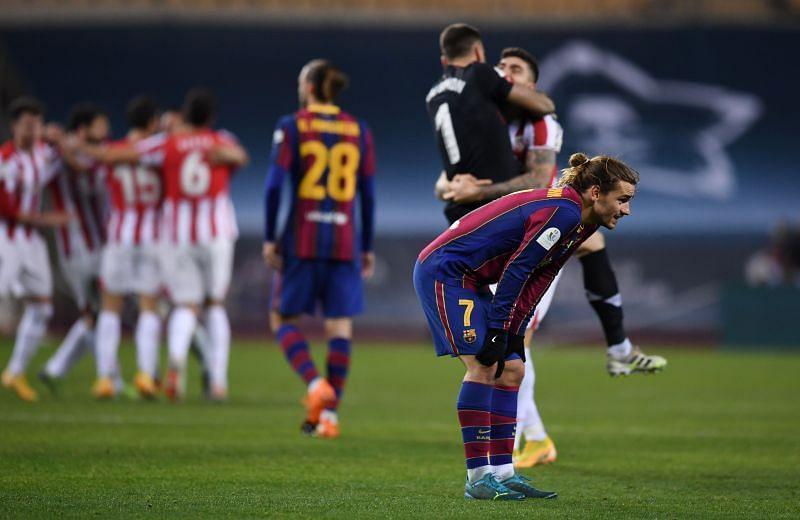 Barcelona mắc sai lầm phòng ngự, tuột mất cơ hội nhận chiếc cúp bạc Supercopa