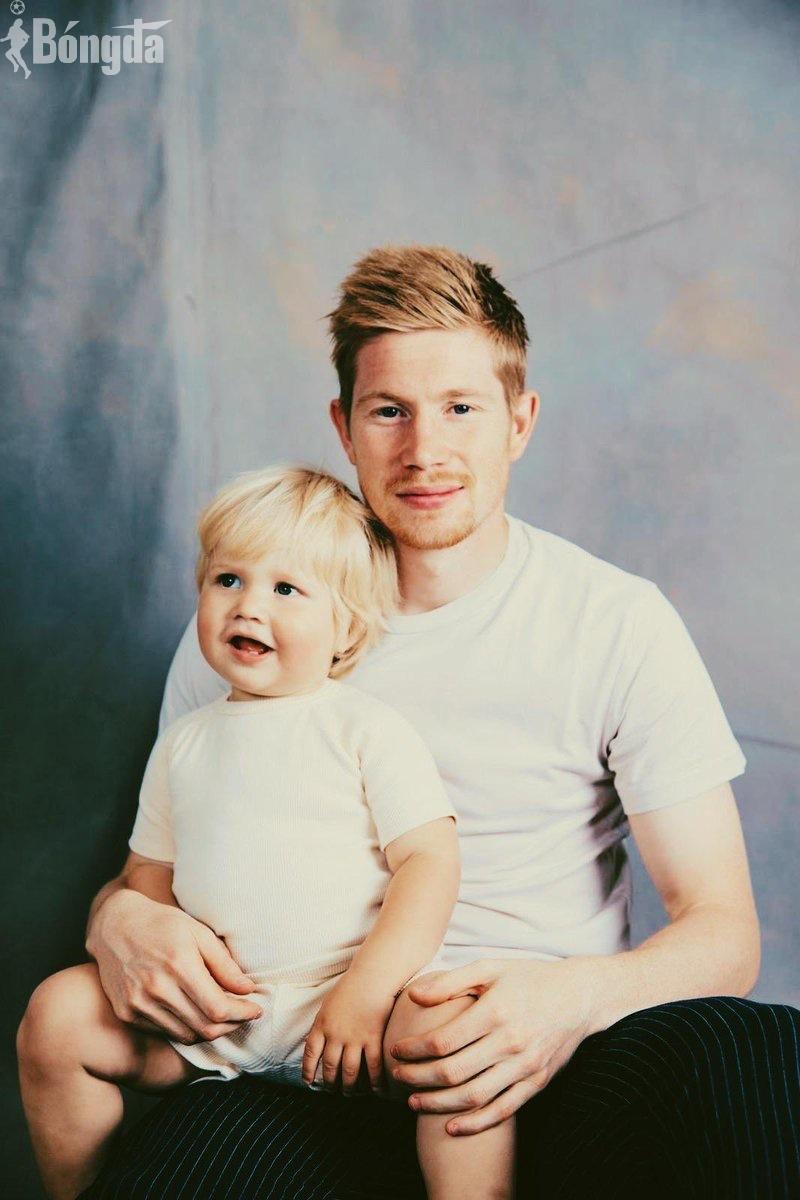 Con trai Kevin De Bruyne ăn mặc sành điệu không khác gì cha