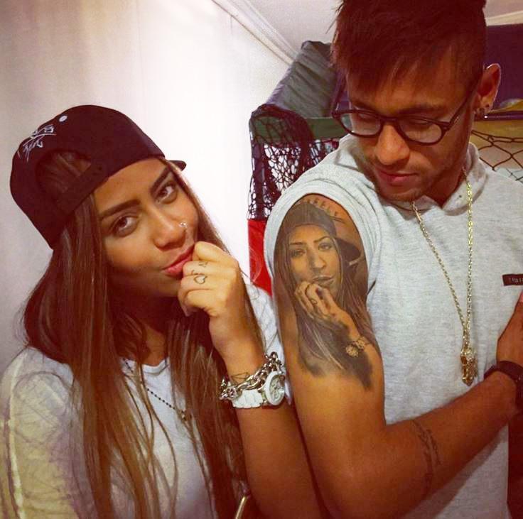 Những hình xăm ý nghĩa của Neymar