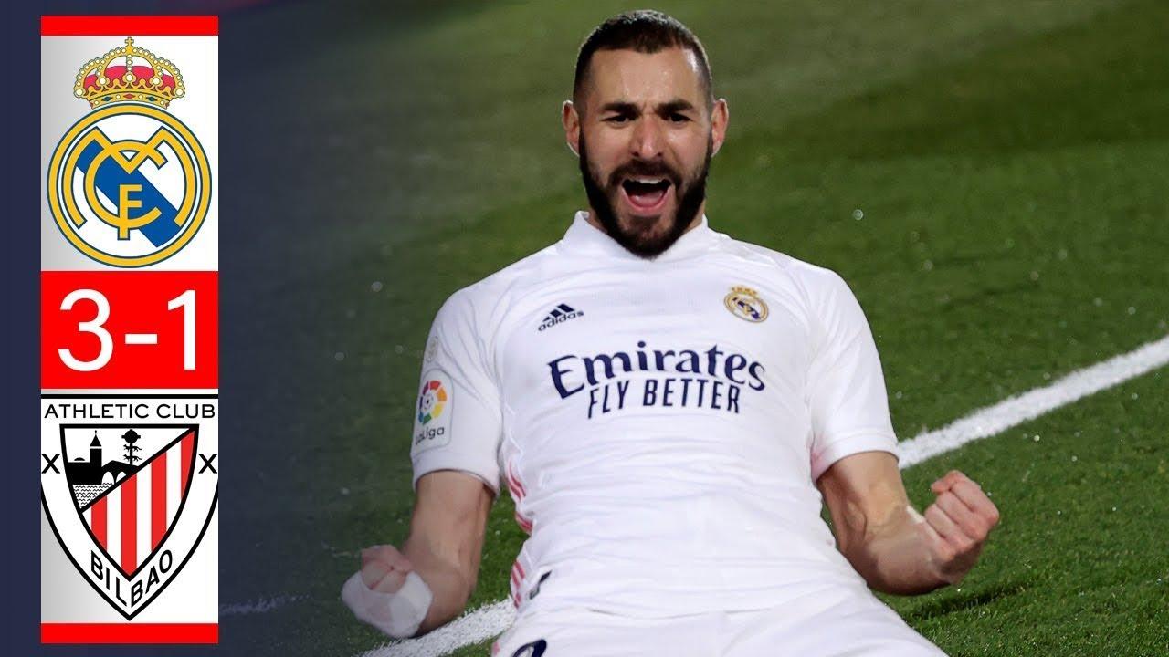 Real Madrid 3 - 1 Athletic: Benzema nhấn chìm 10 cầu thủ của Athletic