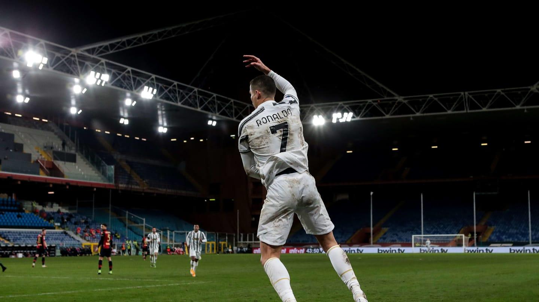 Thành tích của Ronaldo trong năm 2020 (Ảnh: Getty)