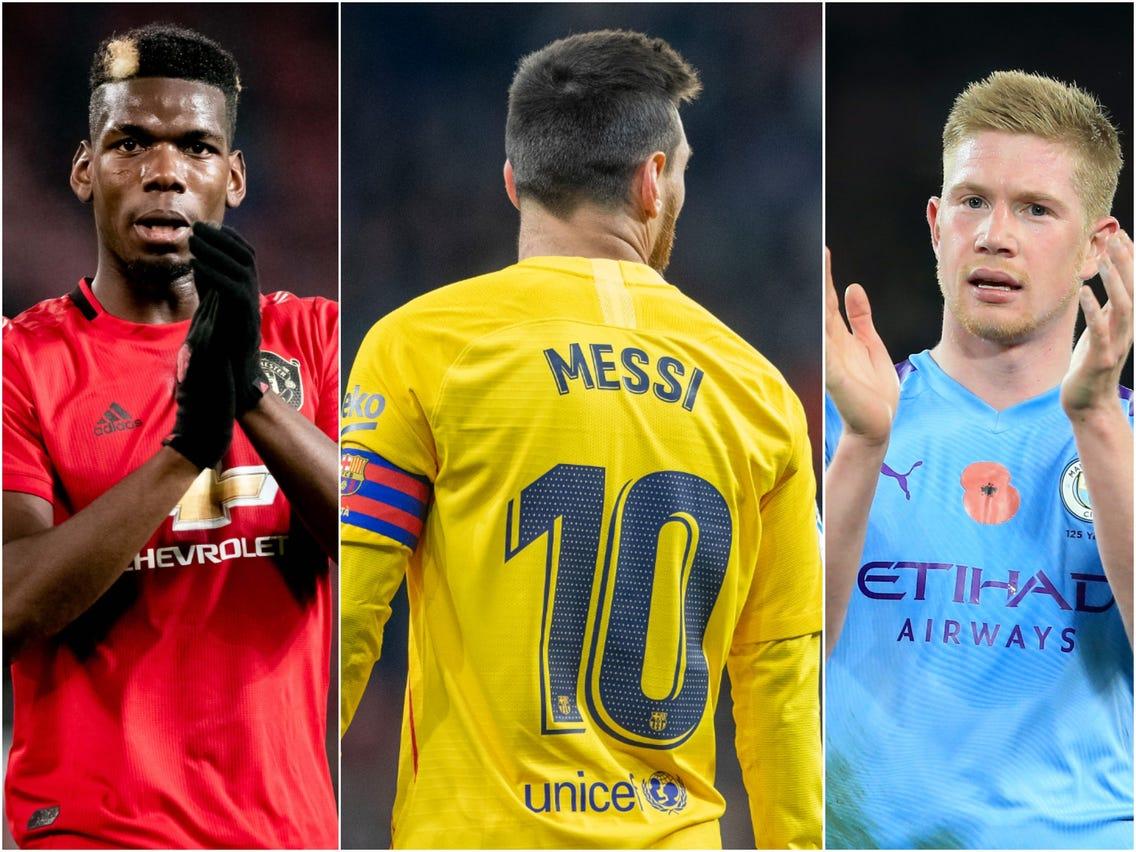 10 cầu thủ bóng đá xuất sắc nhất thế giới hiện tại vào năm 2020 Phần 2
