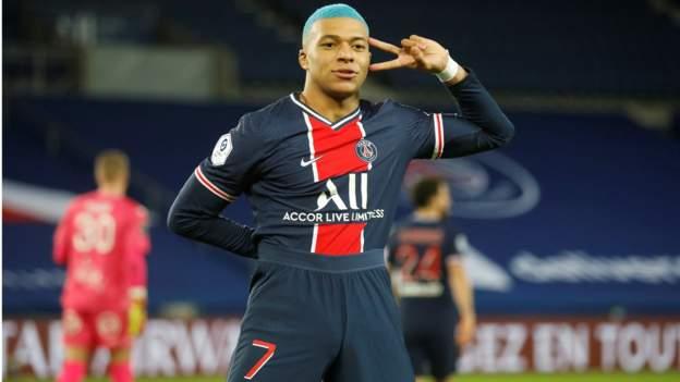 Kylian Mbappe 'có thể từ chối gia hạn hợp đồng nếu Paris Saint-Germain thua Barcelona'