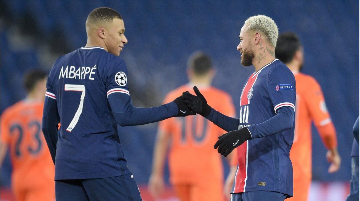 Mbappe và Neymar cùng góp mặt trong Top cầu thủ xuất sắc nhất Champions League mùa giải này