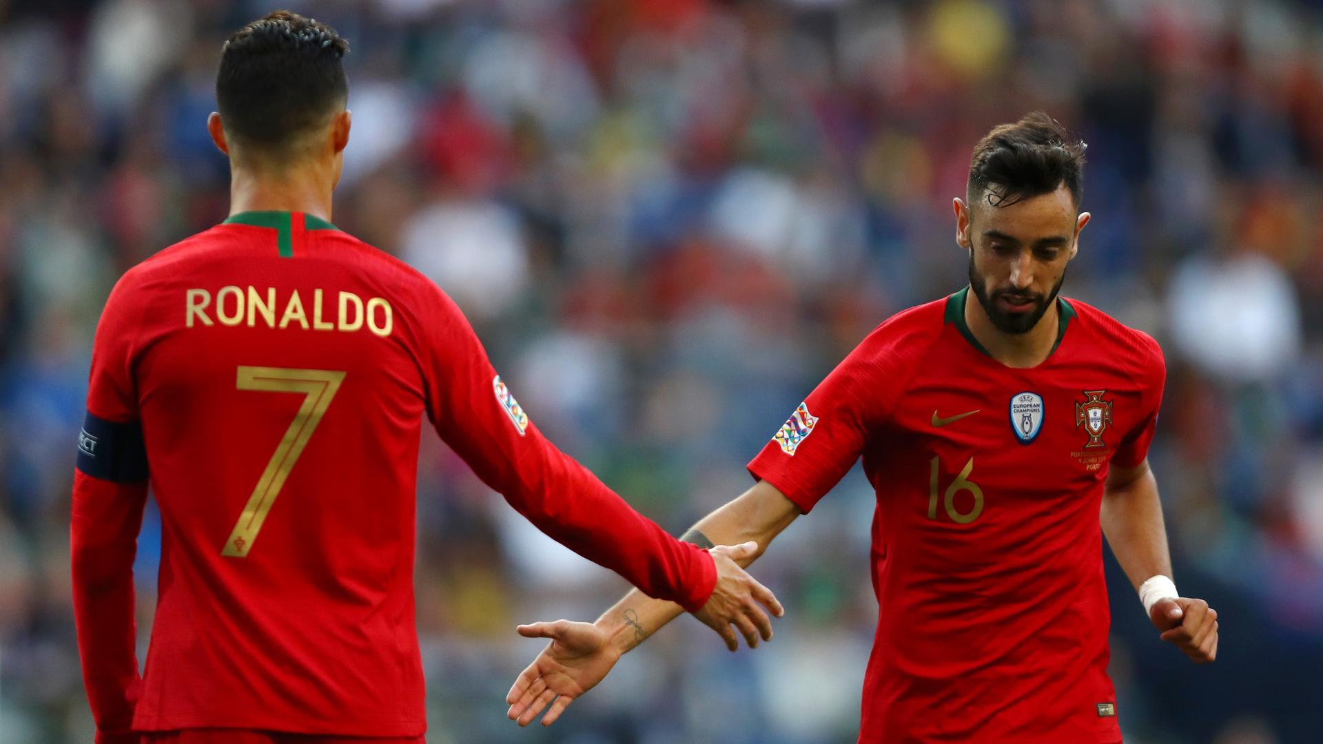 Bruno Fernandes có thể sẽ không hội quân cùng tuyển Bồ Đào Nha