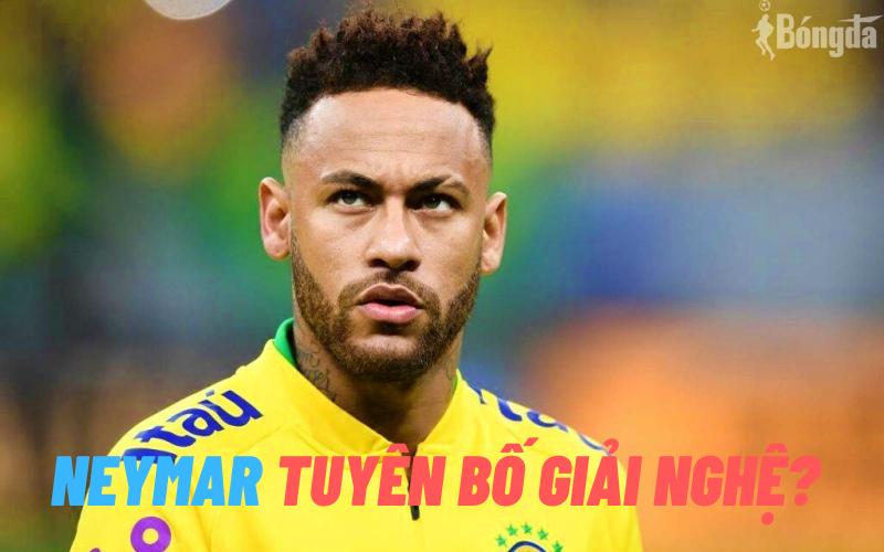 Neymar tuyên bố giã từ ĐTQG Brazil sau chiến dịch World Cup 2022?
