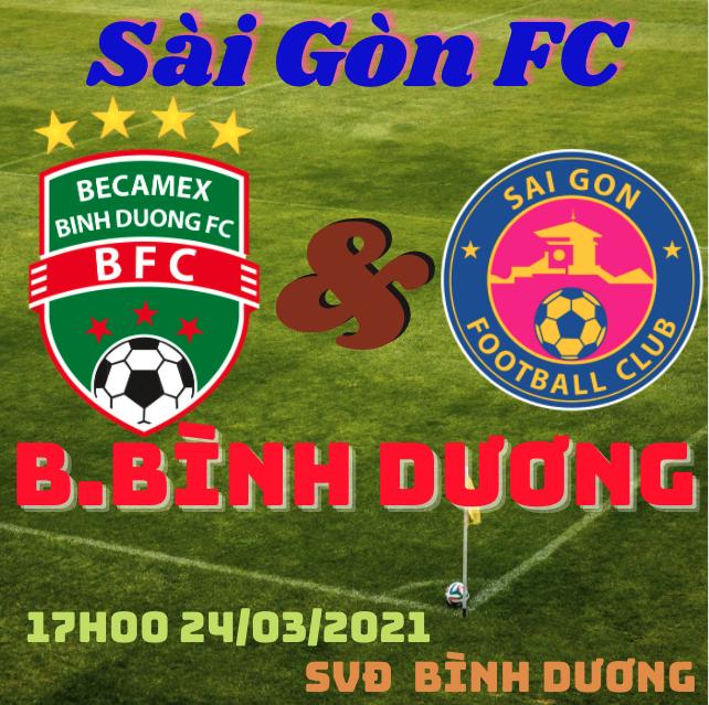 Nhận định bóng đá B.Bình Dương vs Sài Gòn FC 24/3: Đối đầu thách thức