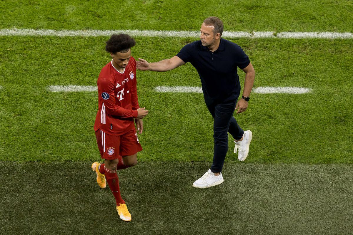 HLV Hansi Flick của Bayern Munich đã có cuộc gặp gỡ Leroy Sané để giải toả bầu không khí căng thẳng