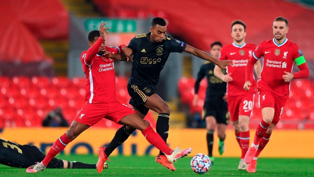 Liverpool đánh bại Ajax để tiếp tục chặng đường tại Champions League