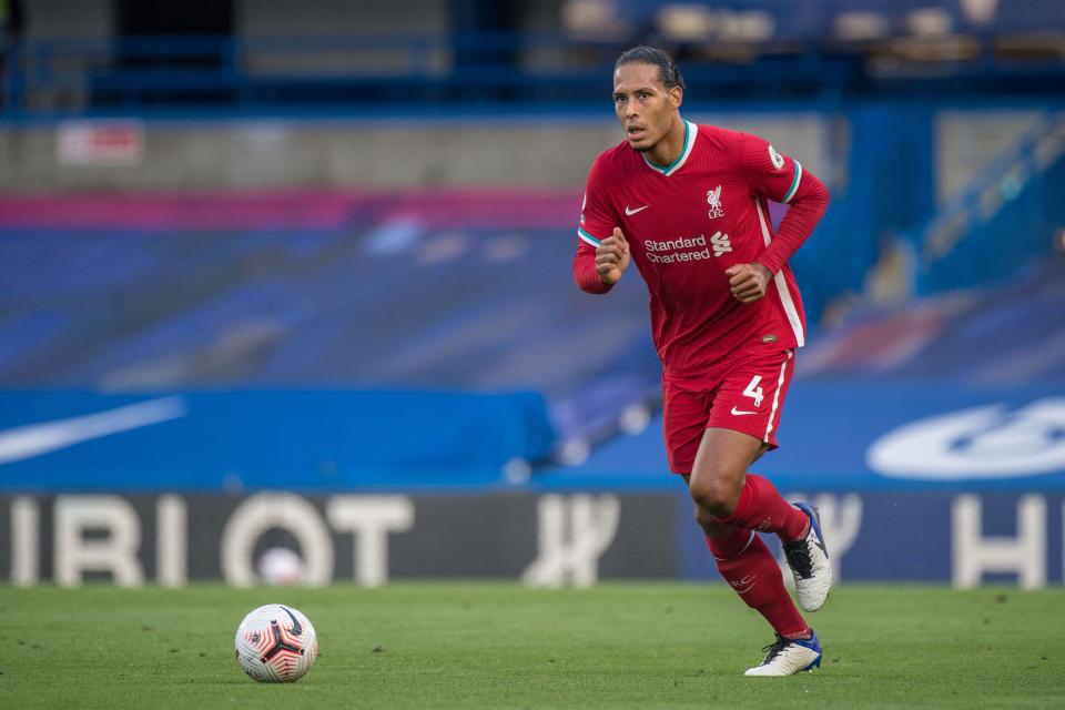 Virgil van Dijk đứng đầu Top trung vệ xuất sắc nhất thế giới