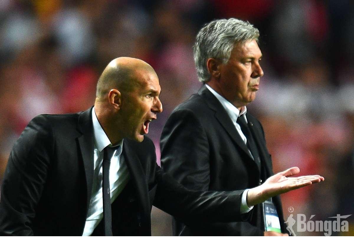 """HOT:  HLV Ancelotti thay Zidane ngồi lên  """"ghế nóng""""  tại Real Madrid"""