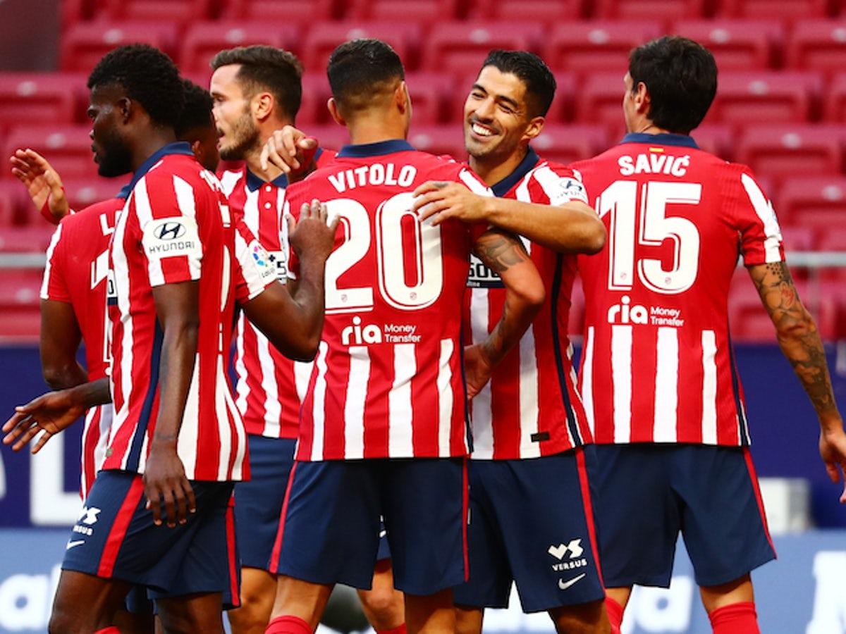 Atletico vượt hạng sau khi thắng Cadiz 4-0