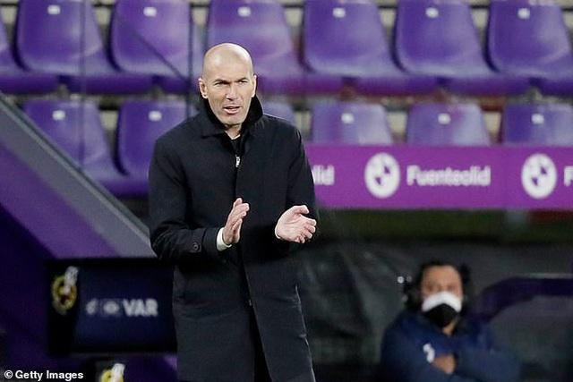 HLV Zidane: Quan trọng là Real Madrid đã ghi bàn và không để thủng lưới