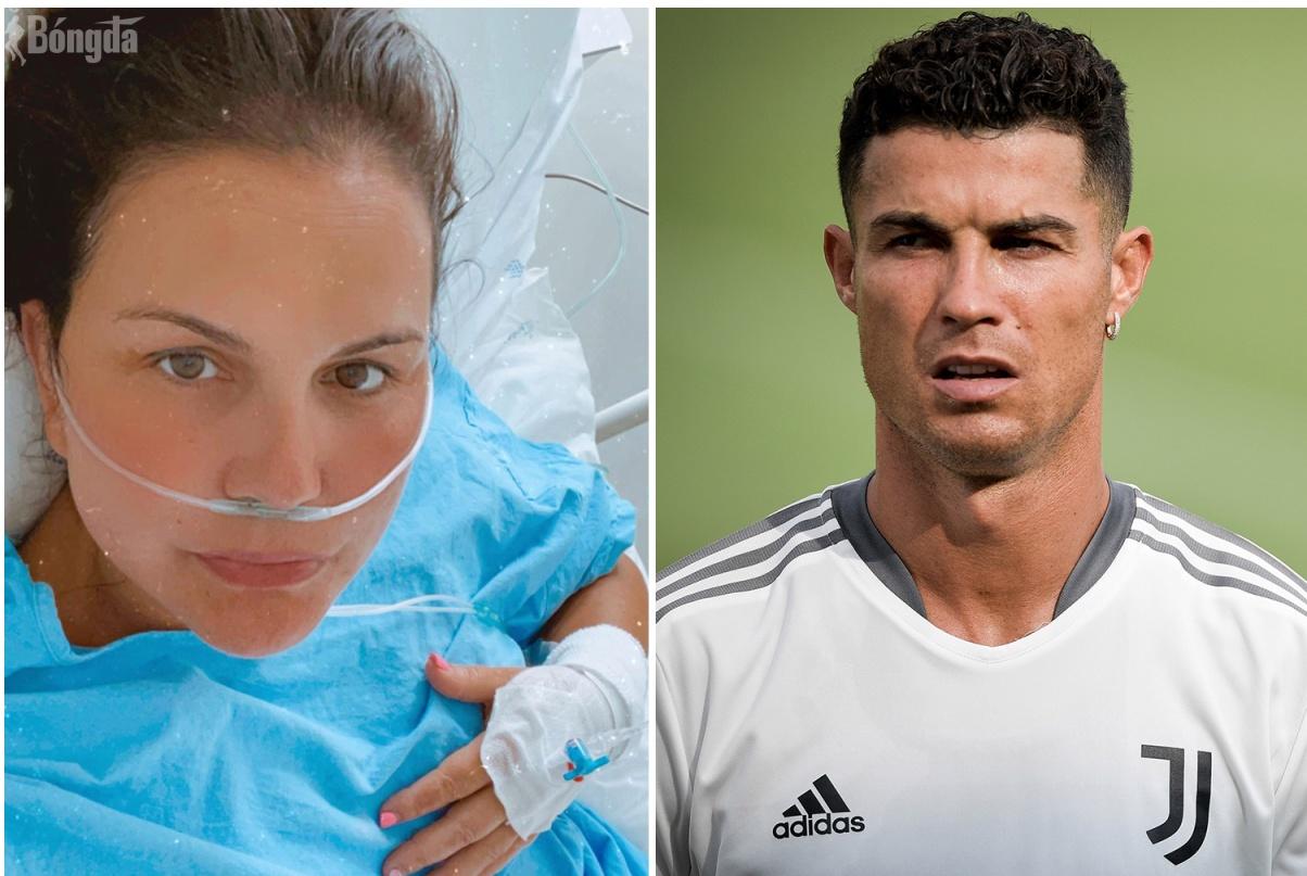 Chị gái Ronaldo nhập viện khẩn cấp vì Covid -19