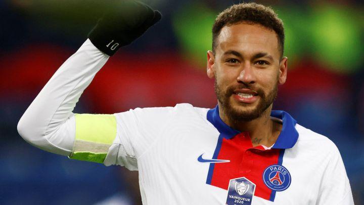 Neymar dự kiến sẽ ra sân từ băng ghế dự bị trong trận lượt về Champions League với Barca