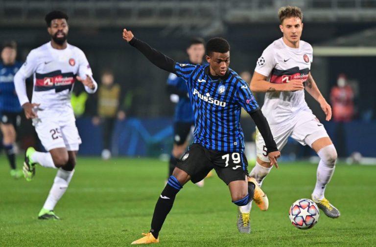 Gasperini ca ngợi Amad Diallo trong trận ra mắt tại Champions League