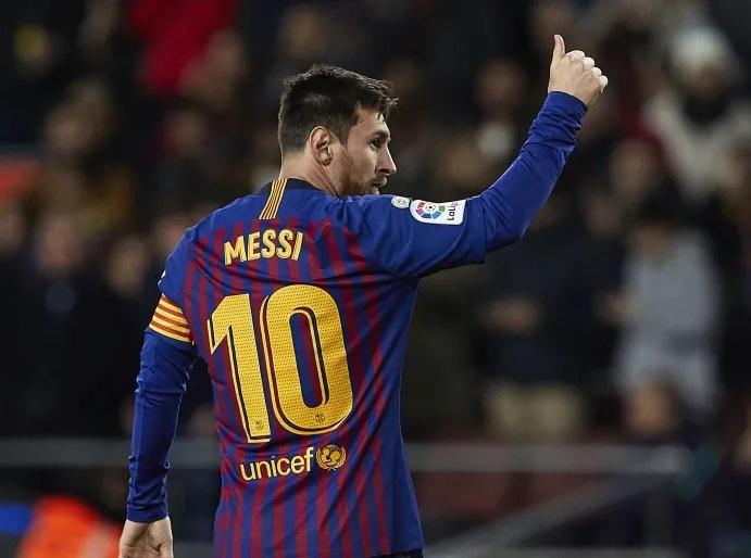 Messi đứng thứ 2 trong top cầu thủ ghi bàn nhiều nhất Champions League