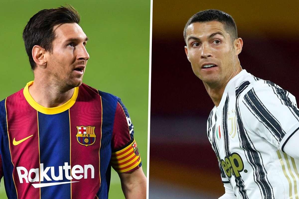 Ronaldo lỡ hẹn với Messi