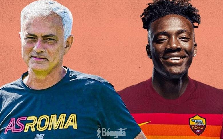HLV Mourinho nói điều gì khiến Abraham từ bỏ Chelsea để gia nhập AS Roma?
