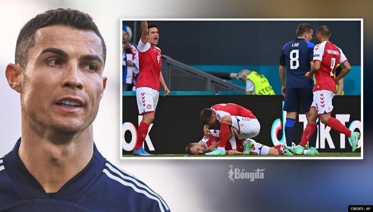 Ronaldo gửi lời động viên đến Christian Eriksen