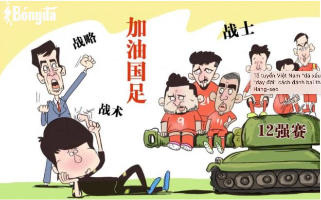 Báo Trung Quốc hiến kế cho đội chủ nhà trước trận gặp Việt Nam