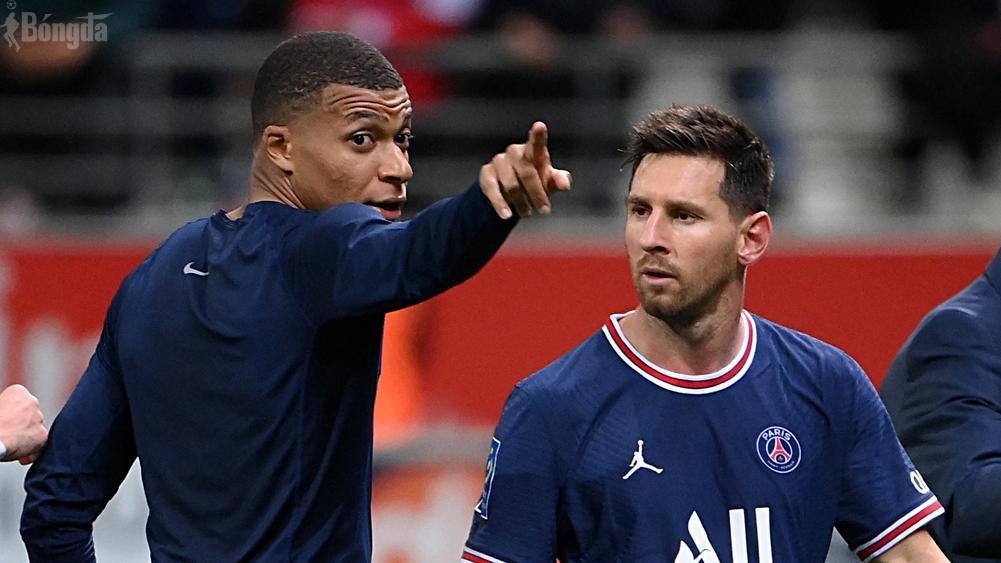 Dập tắt tin đồn bất hoà, Mbappe làm phiên dịch cho Messi tại PSG