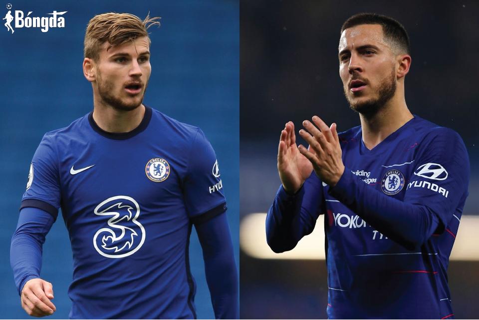 Hazard muốn trở lại Chelsea, Timo Werner lại muốn ra đi